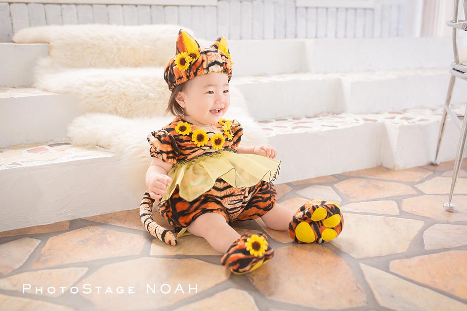 1歳 バースデー フォトステージノア