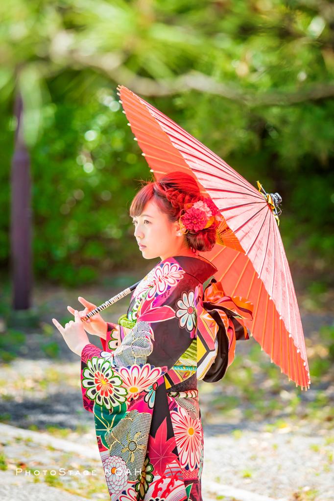埼玉県 スタジオ フォトステージノア 成人式 振袖レンタル