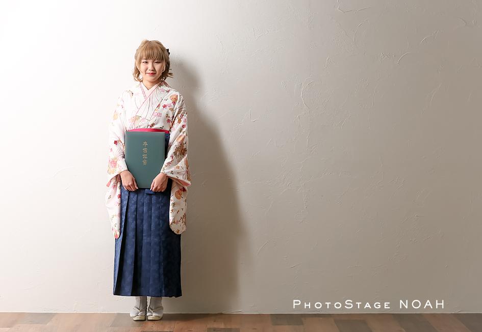 卒業袴の写真