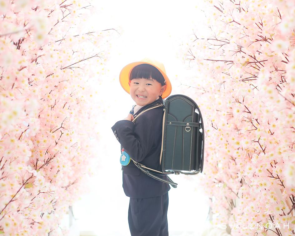 桜スタジオの記念写真